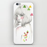 iPhone & iPod Skin featuring Color Geometry by TamSanSerif