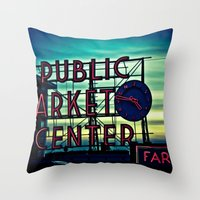 PMC Throw Pillow