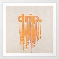 drip v3 Art Print