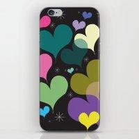 Hearts iPhone & iPod Skin