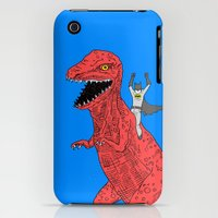 iPhone 3Gs & iPhone 3G Cases featuring Dinosaur B Forever by Isaboa