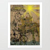 Chastity arch Art Print