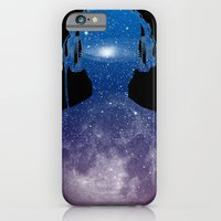 iPhone Cases featuring Music space by barmalisiRTB