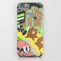 iPhone & iPod Case featuring Run Run Run by Hotdog N' Bun