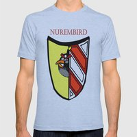 The Angry Nuernberg Nurembird Mens Fitted Tee Athletic Blue SMALL