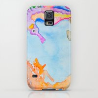 Galaxy S5 Cases featuring Sea Horse 2 by HollyJonesEcu