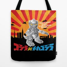 Lil' Mechagodzilla Tote Bag