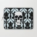 Skull Print Laptop Sleeve