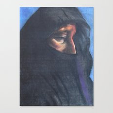 Moroccan Woman Canvas Print