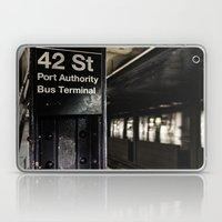42nd Street Subway Stop Laptop & iPad Skin