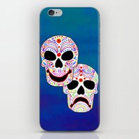 Comedy-Tragedy Colorful … iPhone & iPod Skin