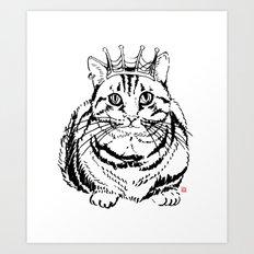 I am KING Art Print