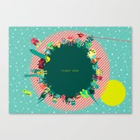 Planet Nine Canvas Print