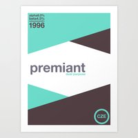 Premiant Single Hop Art Print