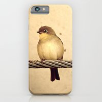 iPhone & iPod Case featuring Yellow Bird by Yolene Dabreteau Photography