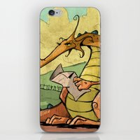 A Dragon's Trek  iPhone & iPod Skin