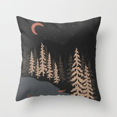 I've Been Here Before... Throw Pillow