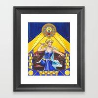 Princess Uranus Framed Art Print