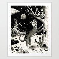 The Ambush Art Print