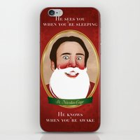 Jolly Ol' St. Nicolas iPhone & iPod Skin