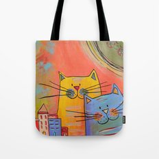 City cats Tote Bag