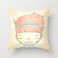 WHEN I LOST EVERYTHING Throw Pillow