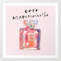 Perfume Coco Mademoisell… Art Print