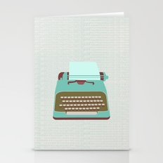 Type Stationery Cards