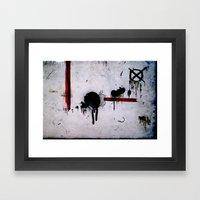 Dirtypple Framed Art Print