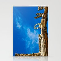 Love and blue sky Stationery Cards