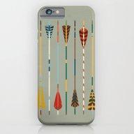 Vintage Arrows iPhone 6 Slim Case