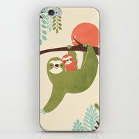 Mama Sloth iPhone & iPod Skin