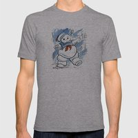 Stay Puft Mens Fitted Tee Athletic Grey SMALL