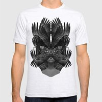 TRANSITORY Mens Fitted Tee Ash Grey SMALL