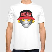 Creative Robot Mens Fitted Tee White SMALL