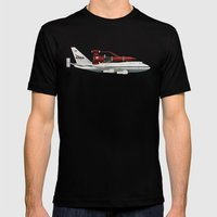 Thunderbird Carrier Mens Fitted Tee Black SMALL