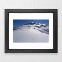 Approaching Tincan Peak Framed Art Print