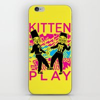 Kitten Play iPhone & iPod Skin