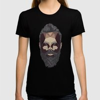 Greybeard Womens Fitted Tee Black SMALL