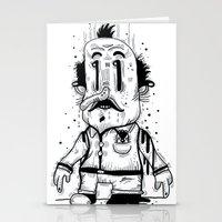 Stinky Man Stationery Cards