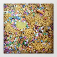 Remnants of the Good Times Canvas Print