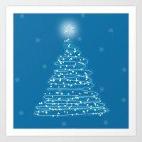 Holiday Tree Art Print