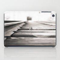 railroad flower  iPad Case
