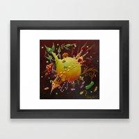 the little tale Framed Art Print