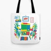 Risograph studio Tote Bag