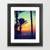 Ibiza Sunrise Framed Art Print