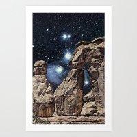 Terrain Art Print