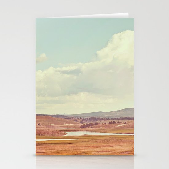Summer Landscape Stationery Card