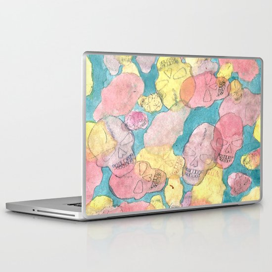 Skulls Laptop & iPad Skin