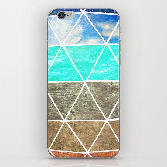 Elemental Geodesic  iPhone & iPod Skin